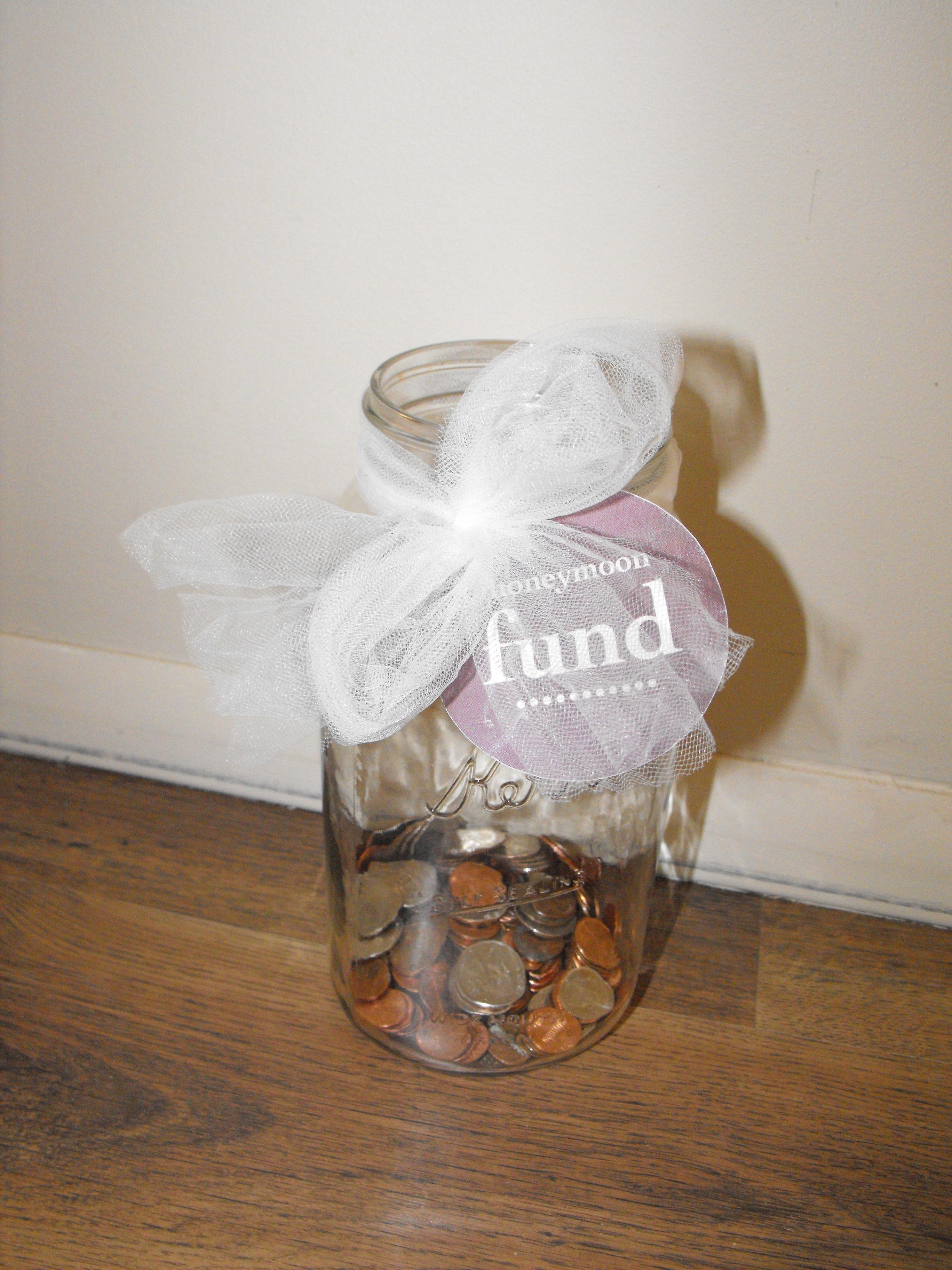 Honeymoon Fund Jar Boogers On The Wall