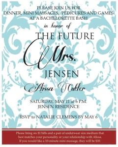 alissa's bachelorette party invites edited